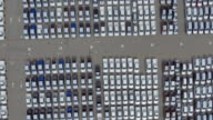 Aerial View, Thousand of new cars for sale