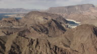 Aerial View Zooming Into Hoover Dam