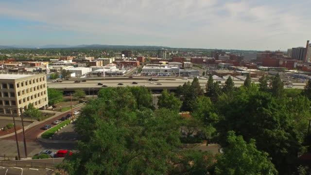 Aerial Washington Spokane
