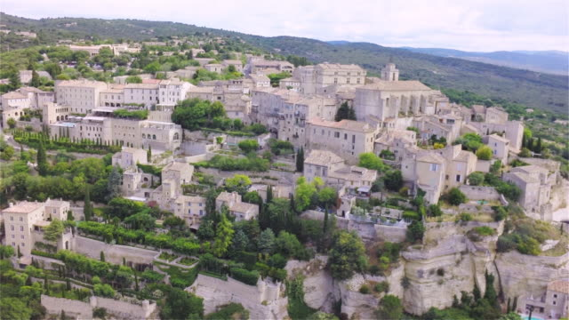 Aerial W/S Middle Ages Village of Gordes