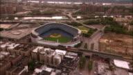 Aerial Yankee Stadium/ Bronx, New York