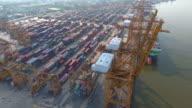 Aerial:Industrial Port