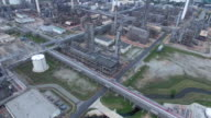 Aerial:Oil Refinery