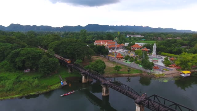 Aerial:Railway over the River