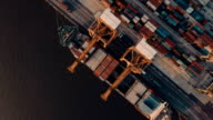 Aerials of Thailand Docks & Containers