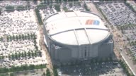 Aerials Of The United Center on May 26 2010 in Chicago Illinois