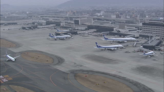 Aerials Osaka Airport