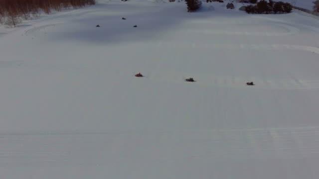 Aerial:Snowmobile
