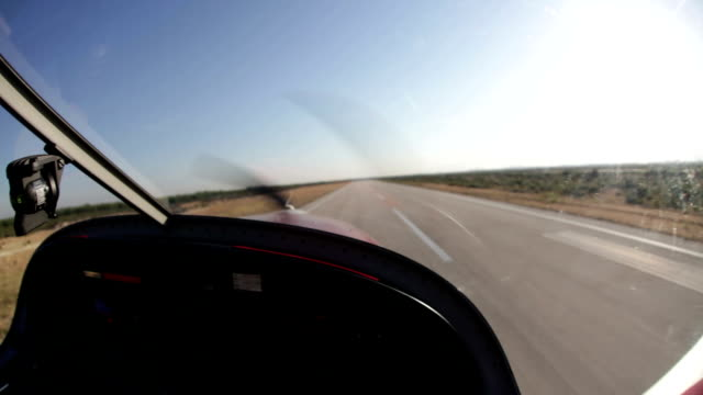 Aerobatic airplane / Timelapse Video