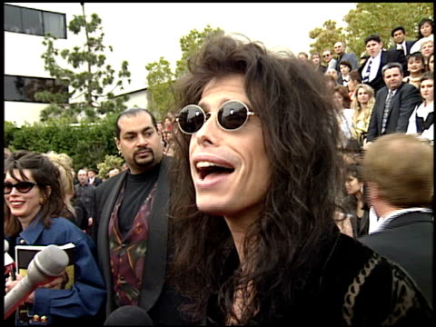 Aerosmith at the 1994 People's Choice Awards at Sony Studios in Culver City California on March 8 1994