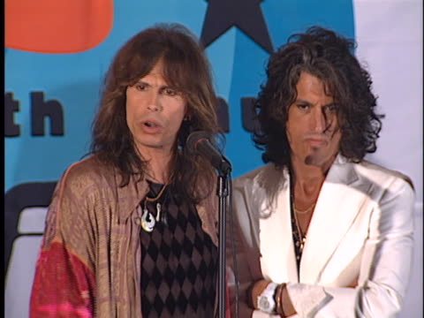 Aerosmith at the Nickelodeon Kids Choice Awards at UCLA Westwood in Westwood CA