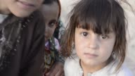 Afghan children at school in Sadat Refugee Camp Afghanistan