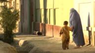 Afghanistan. Afghan woman with burkha
