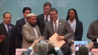 Afghanistan on Thursday joined the World Trade Organization calling it historic membership to boost the war torn nations economy and build peace