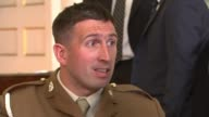 Afghanistan war veteran Ben Parkinson given the freedom of Doncaster INT Lance Bombadier Ben Parkinson interview SOT