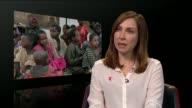 UN humanitarian chief warns of impending catastrophe ENGLAND London GIR Caroline Anning interview SOT