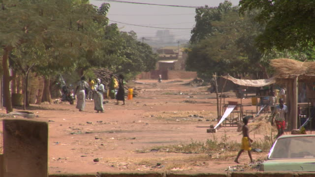 Africa street scene