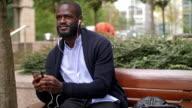 Afrikaanse zakenman in Londen