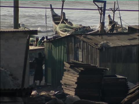 African coastal town.