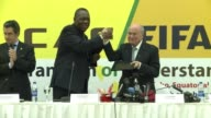 African football boss Issa Hayatou has attacked international media coverage of Equatorial Guineas violence marred Africa Cup of Nations semi final...