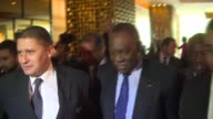 African football leader Issa Hayatou to take charge of FIFA after the 90 day suspension of FIFA head Sepp Blatter and UEFA Chief Michel Platini