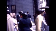 1955 African-American Families Outside Church