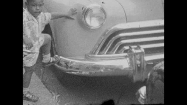 1955 African-American Family and Car