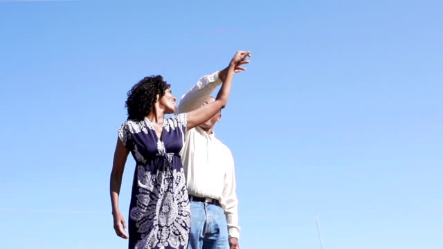 Afro American Couple Dancing