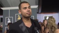 Afrojack on being nominated on electronic dance music and on the event at 54th Annual GRAMMY Awards Arrivals on 2/12/12 in Los Angeles CA