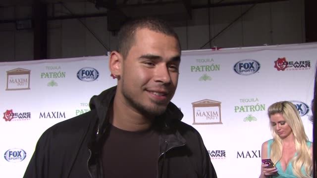 INTERVIEW Afrojack on the event at Patron Tequila Presents The Maxim Party With Gears of War Judgment For XBOX 360 FOX Sports Starter on 2/3/13 in...