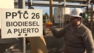 After a monthlong pause production is resuming at a biodiesel plant in the Santa Fe region of Argentina