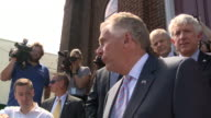 WTVR After attending a predominantly African American church Virginia Governor Terry McAuliffe spoke to members of the press on Aug 13 2017the day...