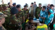 After Bangladesh promised to send soldiers to help build shelters and toilets for the Rohingya refugees a senior general maked a brief but high...