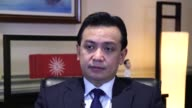 After launching his political career from a jail cell Philippine Senator Antonio Trillanes believes it could end in the grave thanks to a relentless...