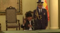 After local elections in Bolivia which sanctionned Evo Morales party tarnished by graft accusations the Bolivian president thanked his people for...
