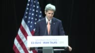 After thrashing out an agreement with Iran over its nuclear programme US Secretary of State John Kerry says the deal has been a long time coming