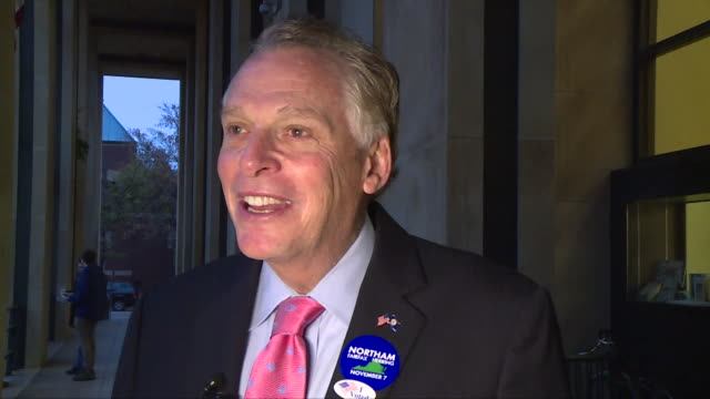 WTVR After Virginia Governor Terry McAuliffe voted on Nov 7 2017 in Richmond the a Democrat and former Democratic National Committee chairman...