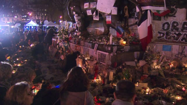 Aftermath in Paris After Terrorist Attacks
