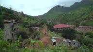 Aftermath of a devastating mudslide in Freetown Sierra Leone