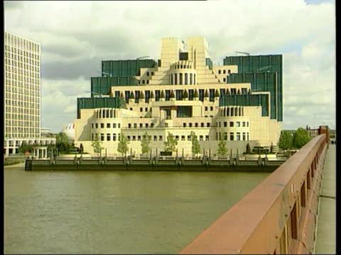 M16 agent Tomlinson memoirs LIB ENGLAND London MI6 HQ