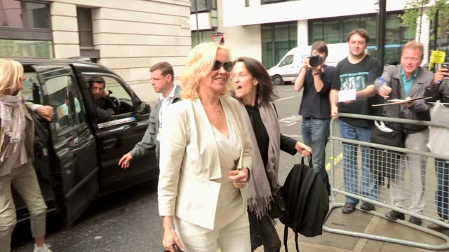 Agnetha Faltskog at Celebrity Video Sightings on May 08 2013 in London England