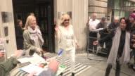 Agnetha Faltskog at Celebrity Video Sightings on May 08 2013 in London England