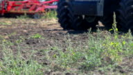 Agricultural work. Plowing