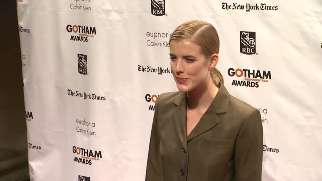 Agyness Deyn at The 22nd Annual Gotham Independent Film Awards at Cipriani Wall Street on November 26 2012 in New York New York