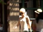 Agyness Deyn departs bar pitti in Grenwich Village in New York 07/01/11