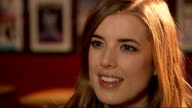 Agyness Deyn interview on her first major role in British movie 'Electricity' Agyness Deyn interview continued SOT