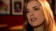 Agyness Deyn lands first major role in British movie 'Electricity' Agyness Deyn interview SOT