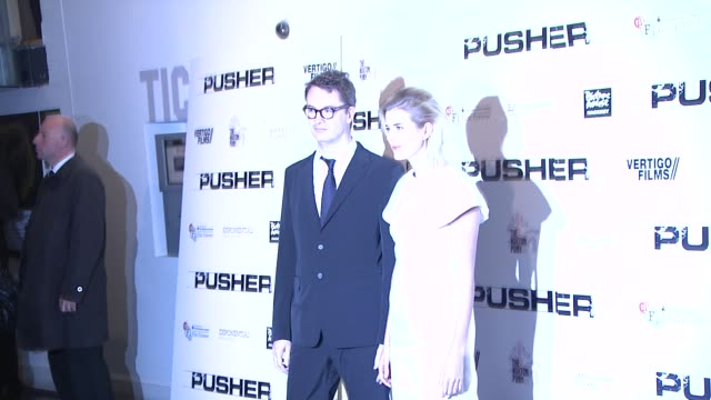 Agyness Deyn Nicolas Winding Refn at Pusher Gala Screening at Hackney Picturehouse on October 04 2012 in London England