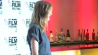 INTERVIEW Agyness Deyn on the movie and being in London at Electricity world premiere on 14th October 2014 in London England