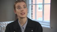 INTERVIEW Agyness Deyn on why she wanted to be involved in the project reading the script and book what made it stand out to her how the story wasn't...